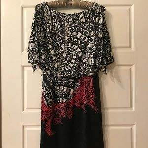 WHBM Cold Shoulder Mini Dress. Size XS